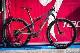 Kate Courtney's Specialized Epic - Val di Sole World Cup 2017