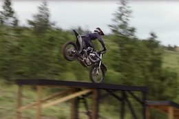 Kris Foster Freeriding a Moto is Seriously Rowdy