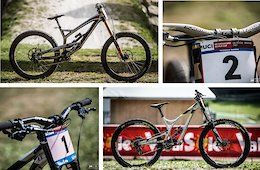 Bikes of the World Cup Overall Winners: Aaron Gwin's YT Tues and Myriam Nicole's Commencal Supreme