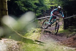 Saturday Practice at Hopton - UK National Downhill Series