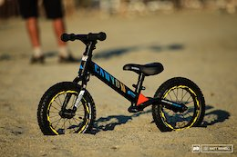 Bike Check: Fabien Barel's One-Year-Old Son Gets a Factory Ride