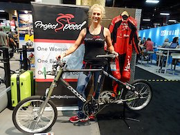 Fastest Woman in the World - Interbike 2017