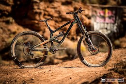 Kyle Strait's Commencal Furious - Red Bull Rampage 2017