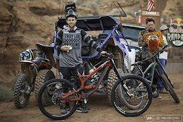 Cam Zink Off SRAM & RockShox