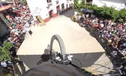 POV: Rémy Métailler's Winning Run - Taxco Urban Downhill