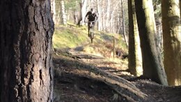 Flat Out Fast Enduro Riding at Innerleithen: Reece Wilson Raw - Video