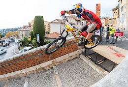 Slavik is Boss at the Grasse Urban DH