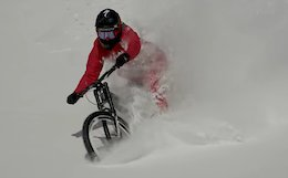 Winter Heli-Biking With Matt Hunter - Video