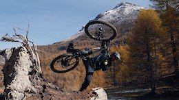 Autumn Trail Bike Ripping in The French Alps