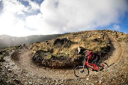 Charlie Hatton Rides Cwmcarn in South Wales – Video