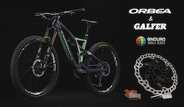 Galfer Bike Sponsors Orbea and The Enduro World Series in 2018