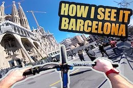 Barcelona is the Ultimate City Playground for Bikes – Video