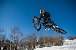 "Mountain Biking on Fresh Corduroy in ""Minnesota Winters"" - Video"