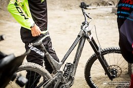 Spotted: Sam Blenkinsop's Norco 29er DH Bike and RockShox Boxxer Prototypes