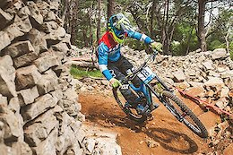 DH World Cup Round 1: Building the Lošinj Track - Video