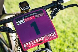 Sina Frei's Wild Ghost Lector at Stellenbosch World Cup XCO - Bike Check