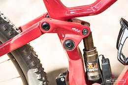 Thömus Lightrider Dual-Suspension 29er at Stellenbosch World Cup XCO - Bike Check