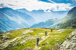 Mountain Biking in Picturesque St. Moritz in Switzerland