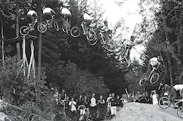 Throwback Thursday: Darren Berrecloth's 2005 Crankworx 360 Drop - Video