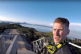 Lošinj Downhill World Cup Track Preview with Sam Pilgrim - Video