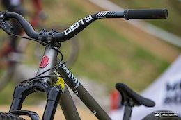 Bike Check: Jordie Lunn's Titanium Cachet Henry III - Crankworx Roturua 2018