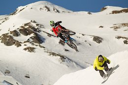 Johannes Fischbach Goes Large on Snowy Senders - Video