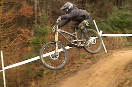 Action From Saturday Practice at the UK DH National Round 1 - Video