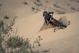 Kilian Bron Tackles The World's Highest Sand Dune - Video
