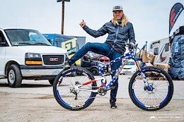 Cody Kelley's Patriotic Alchemy Arktos 29 Bike Check - Sea Otter 2018