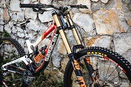 Saracen's 27.5'' and 29'' Myst DH Bike - Lošinj DH World Cup 2018