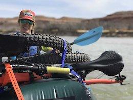 Bike-Boating Comb Ridge in Utah