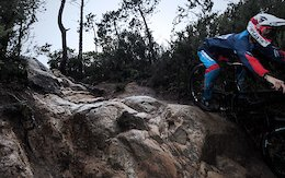 Sam Blenkinsop Sends It on Treacherous Tracks - Video