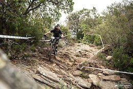 Course Preview: Jagged Rocks, Tight Turns & Grippy Dirt at EWS Olargues, France