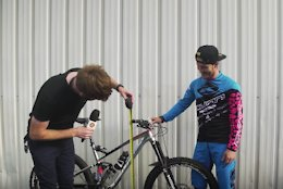 EWS Tech Talk: How High Do Pro Enduro Racers Have Their Handlebars? - Video