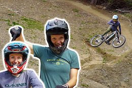 Casey Brown & Vaea Verbeeck Hit the New Dream Track Jumps for the First Time - Video