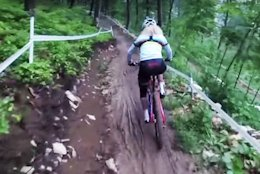 Albstadt XC World Cup Course Preview With Jolanda Neff & Ric McLaughlin - Video