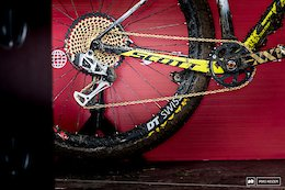 Nino Schurter & Malene Degn's Wireless Electronic Drivetrains - Albstadt World Cup XC