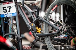 Miranda Miller's Prototype Specialized 29er DH Bike - Fort William DH World Cup 2018