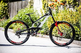 Vali Holl's YT Tues DH Bike - Leogang DH World Cup 2018
