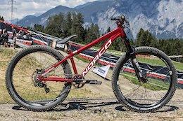 Bike Check: Adrien Loron's Norco Rampage - Crankworx Innsbruck