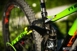 Bike Check: Max Hartenstern's Cube Two15 29er Prototype