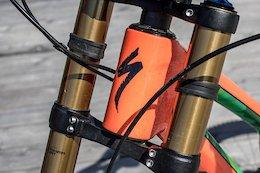 Bike Check: Fabio Wibmer's Specialized S-Works Demo 8 - Crankworx Innsbruck 2018