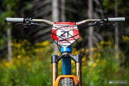 Bike Check: Eddie Masters' Pivot Mach 5.5 - Crankworx Les Gets 2018