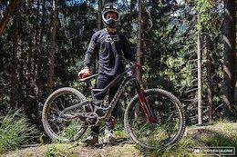Bike Check: Kirt Voreis' Niner Prototype - Crankworx Les Gets 2018