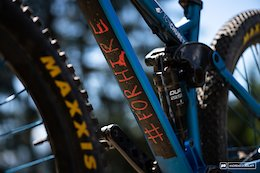 Bike Check: Mitch Chubey's Morpheus VSlope - Crankworx Les Gets 2018