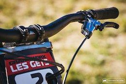 Winning Downhill Bike Check - Crankworx Les Gets 2018