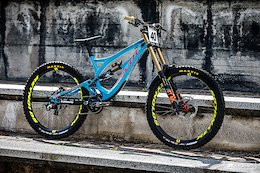 Bike Check: Bernard Kerr's Pivot Phoenix DH - Val di Sole World Cup DH 2018