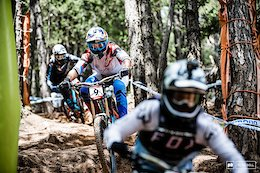 Practice Photo Report: Hitting Warp Speed - Vallnord World Cup DH 2018