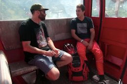 Video: Rob Warner's Gondola Talk With Luca Shaw - Vallnord World Cup DH 2018