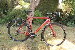 2018 Cannondale CAADX Tiagra Fire Red